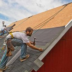 """Many materials—from roofing to siding to flooring—are sold by the """"square."""" Here's how to calculate what you'll need.   Photo: Andy Sacks/The Image Bank/Getty   thisoldhouse.com"""