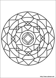 Print coloring pages and drawings to paint Mandalas. Description from pintarcolorir.com. I searched for this on bing.com/images