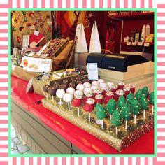Ab heute gibt es wieder SANDYBEL Cake Pops auf dem Christkindlesmarkt Nürnberg am Córdoba-Stand von Conoris #cakepops #forchristmas #christkindlesmarkt