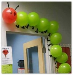Hungry Caterpillar ~ a novel idea for birthday parties