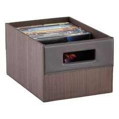 Parker DVD Bin | $16.99  sc 1 st  Pinterest & Put movies and games in their place with our Bristol DVD Bin. An ...