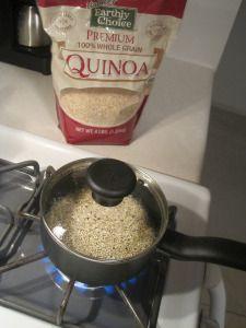 Helpful  quinoa tips.