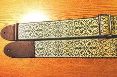 Intricate Celtic Pattern GUITAR STRAP by ScentedSoftandSewn, $31.00