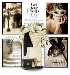 """In a chic mood"" by fashion-and-beauty-miracles ❤ liked on Polyvore featuring WALL, Yves Saint Laurent, aprico, Chanel and Dolce&Gabbana"