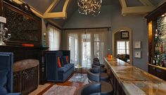 New Hope Home Has Two Bars and One Dreamy Nursery