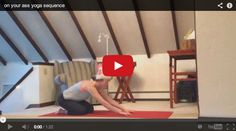 VIDEO: on your ass sequence. tired? stressed? hungover? new to yoga? www.bewellyogalifestyle.com #igniteyourfeelgood #yogaeverydamnday