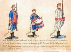 Regimiento de Infantería de Milicias Blancos de Mérida de Yucatán 1767