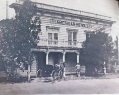 Original Photo Reproduced From The Murphy Family American Hotel Benicia Ca 1st