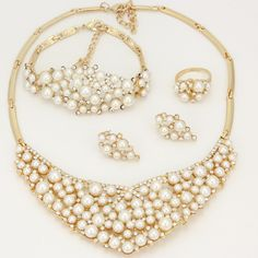 Find More Jewelry Sets Information about African Pearl Fashion Jewelry Set Dubai Gold Jewelry Korean Jewelry Luxury Brand  Women Jewelry Necklace,High Quality necklace australia,China necklace jewelry set Suppliers, Cheap jewelry necklace chain from AE Jewelry&sport jerseys on Aliexpress.com