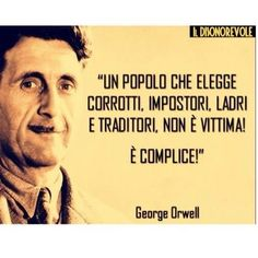 Inspiration for your life! Jokes Quotes, Funny Quotes, Life Quotes, Italian Quotes, Quote Citation, George Orwell, Phobias, Inspiring Things, Sentences