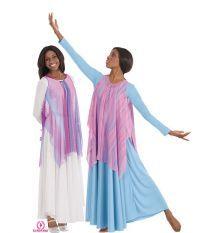 ec933d33cd3d Draped Chiffon Tunic...very pretty and provides modesty Praise Dance Dresses,  Praise