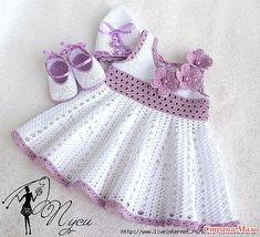 * Vestido para el verano - todo en calado ... (Crochet) - País mamá