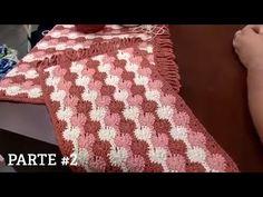 Tapete de Crochê Avelã por Marcelo Nunes   Parte #2 - Programa Mulher.com - YouTube Crochet Home Decor, Make It Yourself, Blanket, Cool Stuff, Blog, Crafts, 1, Youtube, Yellow Rug