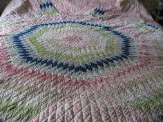 old Around the World quilt