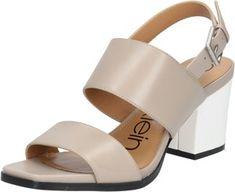 a33994bd gunmetal block heel sandals | Mother of the groom | Block heels ...