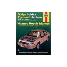 13 Best Dodge Spirit R/T images in 2018 | Dodge spirit