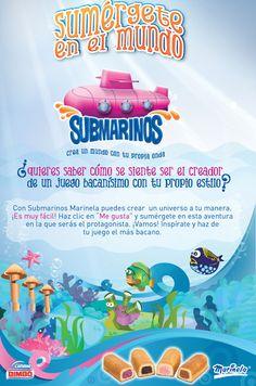Durante 3 meses mas de 4500 cocreadores crearon el primer juego colaborativo para una marca en Colombia. Sumérgete con Submarinos Marinela, y crea un mundo con tu propia onda.  www.facebook.com/SubmarinosMarinela