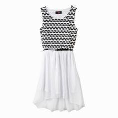 IZ Amy Byer Belted Hi-Low Dress - Girls 4-6x