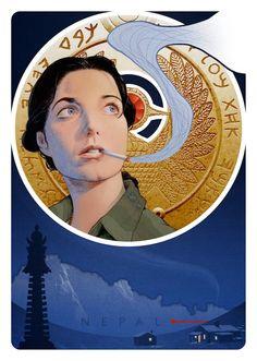 Raiders of the Lost Ark - Simon Gurr - ''Marion Ravenwood'' ----
