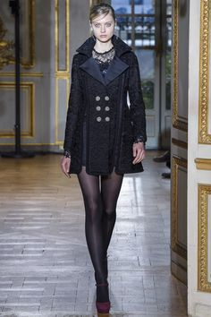 Runway #style review #PFW: Zhuair Murad's 60's collection on French style and music icon Françoise Hardy