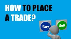 Do you know how to place a trade in forex? Do you often get confused what ''bid'' and ''ask'' means? Then watch the video and learn it for once!
