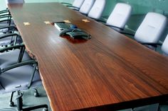 Zapatero conference table 5'x 20 built by Reduxwood Vietnam