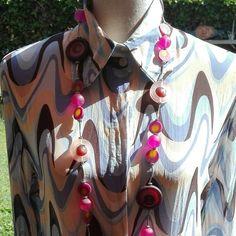 Psicologico 70s camicia da donna