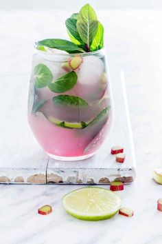 Rhubarb Mojito and other great spring cocktail recipes
