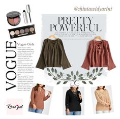 """Rosegal contest"" by shintawidyarini on Polyvore featuring Bobbi Brown Cosmetics"