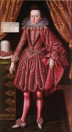 Prince Charles the Future Charles I by Robert Peake, 1613. (University of Cambridge)