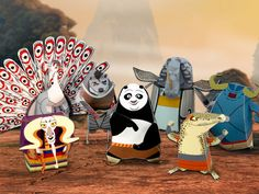a59a8e2906658 Kung Fu Panda 2 Skadoosh! Po and the Furious Five are back and taking on