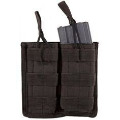 These modular magazine pouches can be attached to your tactical vest, belt, drop leg platform, gun bag, or even inside your pack. Voodoo Tactical, Tactical Vest, Army Navy Store, Army & Navy, Bug Out Backpack, Molle Gear, Duty Gear, Shooting Gear, Black Models
