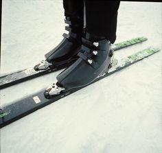 Early prototype Hanson ski boots