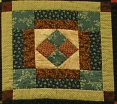 """Coxey's Camp - After the depression in 1893, Jacob Coxey led a group of unemployed men to Washington, D.C. to draw attention to the need for legislation to increase employment. In commemoration of the efforts of """"Coxey's Army"""", this block was stitched."""