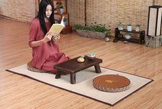 Japanese Tatami Large Bamboo Prayer Mat Oriental Design Floor Yoga Mattress Rug For Bedroom Prayer Mat Carpet Washitsu, Cheap Rugs, Oriental Design, Home Textile, Mattress, Bamboo, Prayers, House Design, Japanese