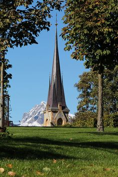 Church in Bad Ragaz, Switzerland