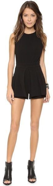 Black Playsuit by Lovers + Friends. Buy for $113 from shopbop.com