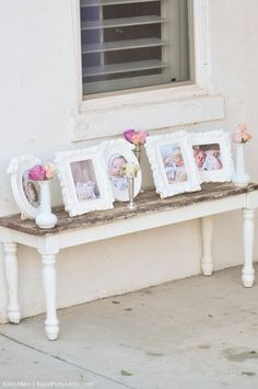 Kara's Party Ideas Chic Floral Baby Blessing Luncheon with FREE Printables Girl Baptism Party, Tea Party Baby Shower, Baby Baptism, Boho Baby Shower, Floral Baby Shower, Baby Party, Baptism Ideas Girls, Dedication Ideas, Baby Dedication