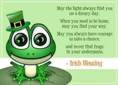 Happy Saint Patrick's Day to all who are Irish and all who wish they were :)