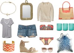 """""""Beach Chic"""" by elementsofstyle on Polyvore"""