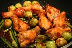 Sriracha Chicken Drumsticks スリラチャ 鶏肉 手羽元