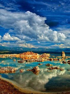 Mono Lake is a large, shallow saline soda lake in Mono County, California, formed at least 760,000 years ago as a terminal lake in a basin that has no outlet to the ocean. - Explore the World with Travel Nerd Nici, one Country at a Time. http://travelnerdnici.com