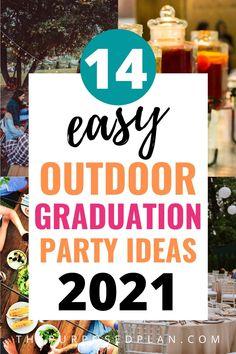 Outdoor Graduation Parties, Graduation Party Planning, College Graduation Parties, Graduation Celebration, Graduation Party Decor, Graduation Cake, Graduation Ideas, Advice For The Graduate, Graduation Open Houses