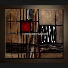 Oil Painting Wall Art on Canvas - Abstract PTG1069