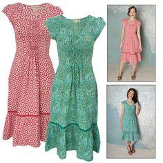 Lakeshore Hand Block printed dress