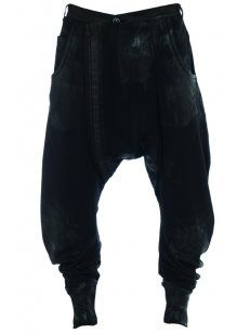 Delusion Rattan Jersey Trousers Black