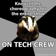 yep. backstage dance commence