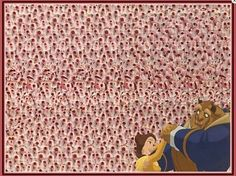 Beauty & The Beast Magic Eye