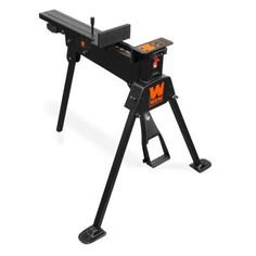 Saw Horse Work Bench Portable Clamping Non-Marring Jaws Heavy Duty Steel Frame Portable Workbench, Mitre Saw Stand, Table Saw Stand, Steel Frame Construction, Diy Garage, Garage Storage, Home Workshop, Home Repair, Cool Tools