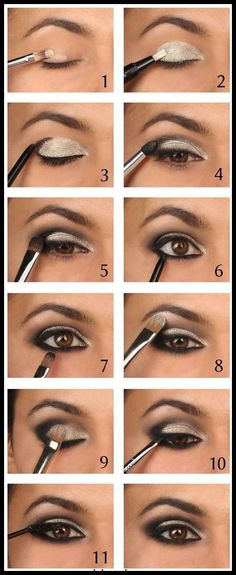 awesome smokey eyes makeup is definitely an art.- awesome smokey eyes makeup is definitely an art.todays round up is a little diff… awesome smokey eyes makeup is definitely an art.todays round up is a little different than usual - Smokey Eyes Tutorial, Eyeshadow Tutorial For Beginners, Eyeshadow Tutorials, Eye Shadow For Beginners, Beginner Makeup Tutorial, Makeup Tips For Beginners, Diy Tutorial, Brown Eyeshadow Tutorial, Eyeliner For Beginners